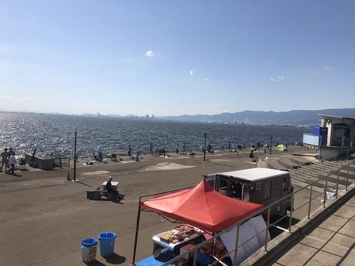 鳴尾浜臨海公園海づり広場(兵庫・西宮)の釣り場情報|阪神エリア