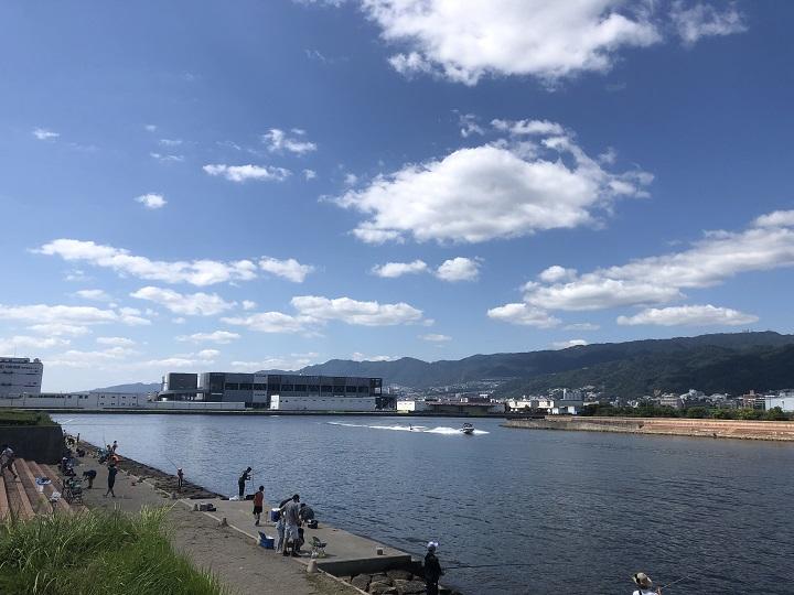南芦屋浜 北側水道・総合公園前(兵庫・芦屋)の釣り場情報