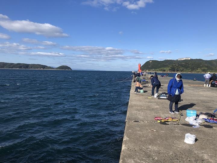加太大波止・新波止(和歌山・和歌山市内)の釣り場情報|紀北エリア