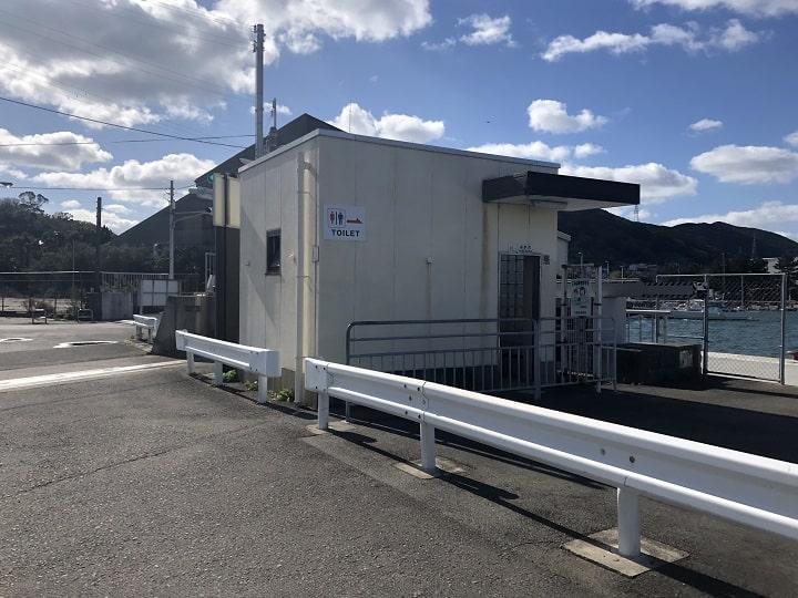 深日港(大阪・岬町)の釣り場情報│泉南エリア 駐車場 トイレ